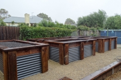 Colourbond and ECOWOOD veggie beds